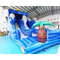 Wholesale Kids Commercial Inflatable Slide Jumping Bounce House from china suppliers