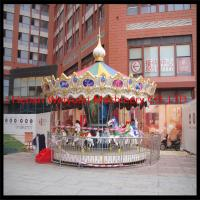 China Charming & Professional outdoor carousel merry go round horse for sale on sale