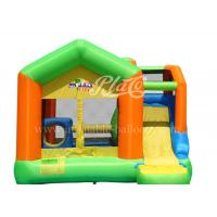 Wholesale Home Use Inflatable Bouncy Castle With Slide High Tear Strength from china suppliers