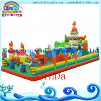 Buy cheap Kids Used Inflatable Jumping Castle / Inflatable Bouncer Castle For Sale from wholesalers