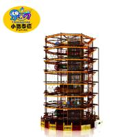 Wholesale Aamusement Park Kids Ninja Warrior Equipment High Capacity Eco - Friendly from china suppliers