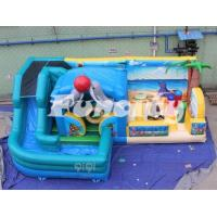Wholesale Multi Color Summer Beach Inflatable Play Center With Durable Slide 2 Years Warranty from china suppliers