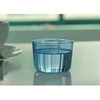 Wholesale Colored high borosilicate pyrex double wall drinking glasses , Light blue from china suppliers