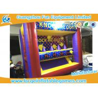 Wholesale Funny Inflatable Sport Games Hover Ball Shoot Games For Playground / Party Event from china suppliers