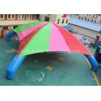 Wholesale 15m Colorful 4 Legs Inflatable Dome Tent For Exhibition / 0.45mm PVC Inflatable Car Park Tent from china suppliers