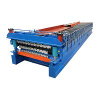 Buy cheap 3kw Power Motor Metal Corrugated Roofing Sheet Roll Forming Machine from wholesalers