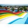 Buy cheap Kids 1 Rider / Time 10mm Fiberglass Water Slide from wholesalers
