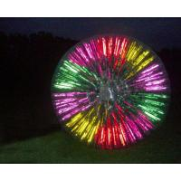 China Beautiful Shining Zorb Ball for Adults on sale