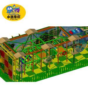 Wholesale Amusement Zone Kids Indoor Playground Equipment European Standards Anti - Static from china suppliers
