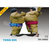 Wholesale 0.45mm PVC Inflatable Sport Games Sumo Suits YHSG-005 with EVA Foam for Wrestling from china suppliers