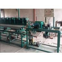 Wholesale PVC Coated Diamond Mesh Fencing Machine , Automatic Chain Link Machine 140㎡/H Capacity from china suppliers