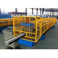 Wholesale K Type PPGI Gutter Roll Forming Machine For Take Roof Rainwater from china suppliers