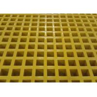Quality Custom Size Plastic Mesh Flooring , Corrosion Resistance Plastic Walkway Panels for sale