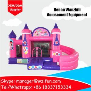 China princess castle inflatable toys castle bouncy castle pvc material on sale