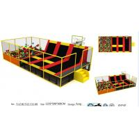 Wholesale 72M2 Senjun Professional China Supplier ASTM Certified Indoor Trampoline/Commercial Indoor Trampoline Park from china suppliers