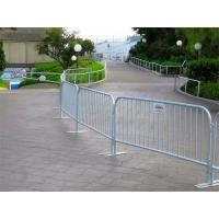 China Flexible Metal Crowd Control Barriers , Portable Safety Fence For Sporting Events on sale