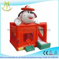 China Hansel perfect spotty dog inflatable bounce castle with slide for kids on sale
