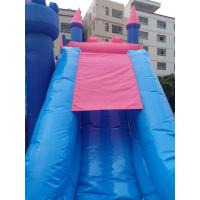 Pink Princess Girl Inflatable Bounce House Combo Double Stitching 4Mx 4M X 4M