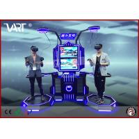 Wholesale HTC Vive Double Seaters Interactive Vr Simulator For Entertainment Park With Intensely Joyful Games from china suppliers