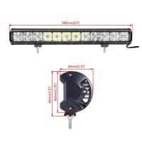 Wholesale 7D Cross 144 W DRL Car Roof LED Light Bar , 110v Led Flood Light Bar 2 Years Warranty from china suppliers
