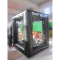 Wholesale Black Inflatable Cash Booth,Inflatable Crab Money Machine For Advertisement from china suppliers