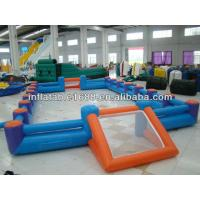 Wholesale Durable School Inflatable Sports Games , Soccer Arena / Football Pitch from china suppliers