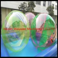 China CE certificate durable  2M  TPU0.8 Colorful Water Walking Ball  with German zip use in shopping mall on sale