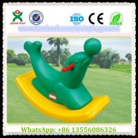 Wholesale Creative Design Children Sea Lion Plastic Rocking Horse Toy for Inner Place Items QX-155G from china suppliers