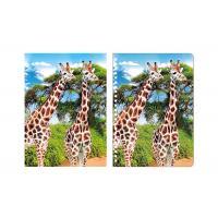 Buy cheap Giraffe Animal Custom 3D Lenticular Notebook For School Stationery Set from wholesalers