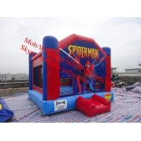China inflatable spider man bouncy castle castle toy inflatable jumping castle for sale on sale