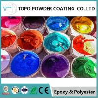 Wholesale Switchboards Epoxy Polyester Coating , RAL 1021 Colza Yellow Excellent Powder Coating from china suppliers