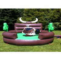 Wholesale Outdoor Inflatable Interactive Games Kids Mechanical Bull Riding Machine from china suppliers