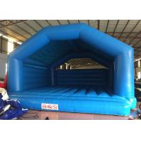 Wholesale Blue Kids Inflatable Bounce House Commercial Grade 7.9 X 7.1m Safe Nontoxic from china suppliers