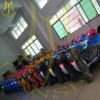 China Hansel 2016 high quality Indoor Playground Equipment Plush Animal Electric Scooter Toy Cars For Kids To Drive on sale