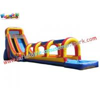 Wholesale Commercial grade 0.55mm PVC tarpaulin Outdoor Inflatable Slip N Water Slides for Kids from china suppliers