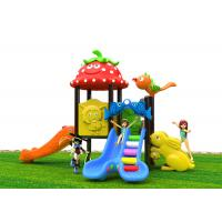 China Attractive Roto - Molded Kids Outdoor Plastic Slide For 2 - 6 Years Old on sale