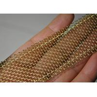 Wholesale Ultra - Narrow Edge Wrapped SS / Copper Wire Mesh 1000 Micron 0.02m - 0.6m Width from china suppliers