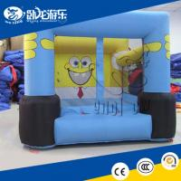 Buy cheap small kids inflatable bounce round from wholesalers