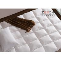 Wholesale Luxury Hotel Mattress Toppers / King Size Bed Mattress Topper Customized Size 233T from china suppliers