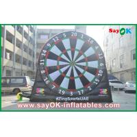 Wholesale 0.55mm PVC Inflatable Sports Games Velcro Dart Football Games Board from china suppliers