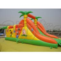 Wholesale Commercial Inflatable Bouncer With Slide PVC Colourful Inflatable Jumping Castle from china suppliers