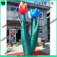 Wholesale Spring Indoor Outdoor Event Party Decoration Inflatable Tulip Flower Stage Decoration from china suppliers