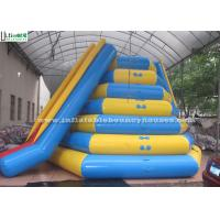China Icetower Water Park Inflatable Water Toys With Slide By Airtight Technique on sale