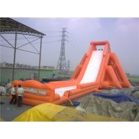 Wholesale Professional 56m Hippo Inflatable Water Slide For Adults Water Resistant from china suppliers