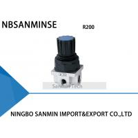 Wholesale R200 G1 / 4 Air Regulator Air Compressed Pneumatic Regulator Valve from china suppliers