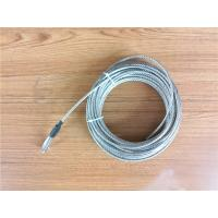 Wholesale 5.2mm 7x19 Galvanized Steel Wire Rope Cable With Thimble Bright Coating from china suppliers