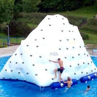 Wholesale challenging Inflatable Rock Climbing Wall convenience inflatable climbing wall for sale from china suppliers