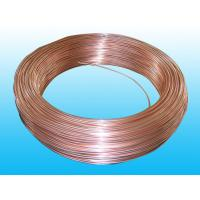 Copper Coated Double Wall Bundy Tube 6 * 0.7 mm For Brake , Freezer