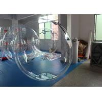 Wholesale Waterproof 1.0mm PVC Clear Aqua Walk On Water Inflatable Ball / Balloon from china suppliers