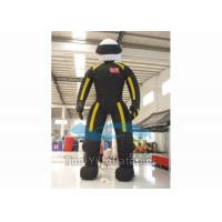 Customized Cartoon Character Inflatables PVC Tarpaulin Materials For Display